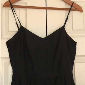 Black J Crew dress